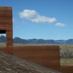 Brinton Museum Rammed Earth Wall